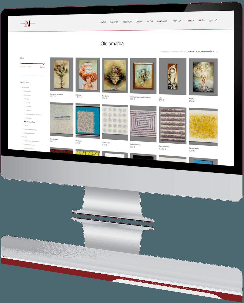 Atelier Hlavina - Predaj Umenia Online