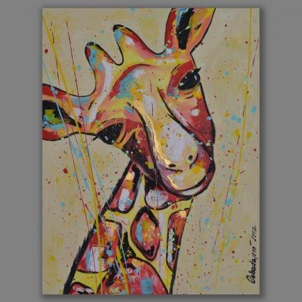 Atelier Hlavina: Žirafa - Cabadajová Nikola