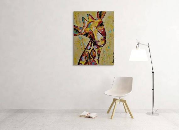 Atelier Hlavina: Žirafa - Cabadajová Nikola - interier