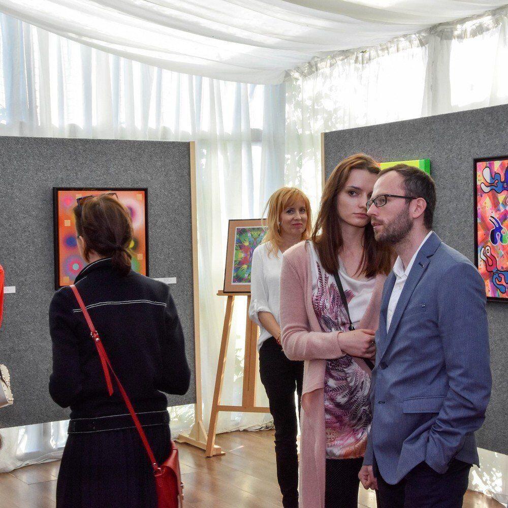 Vernisáž výstavy: Svetlá a tiene, Daniel Bidelnica