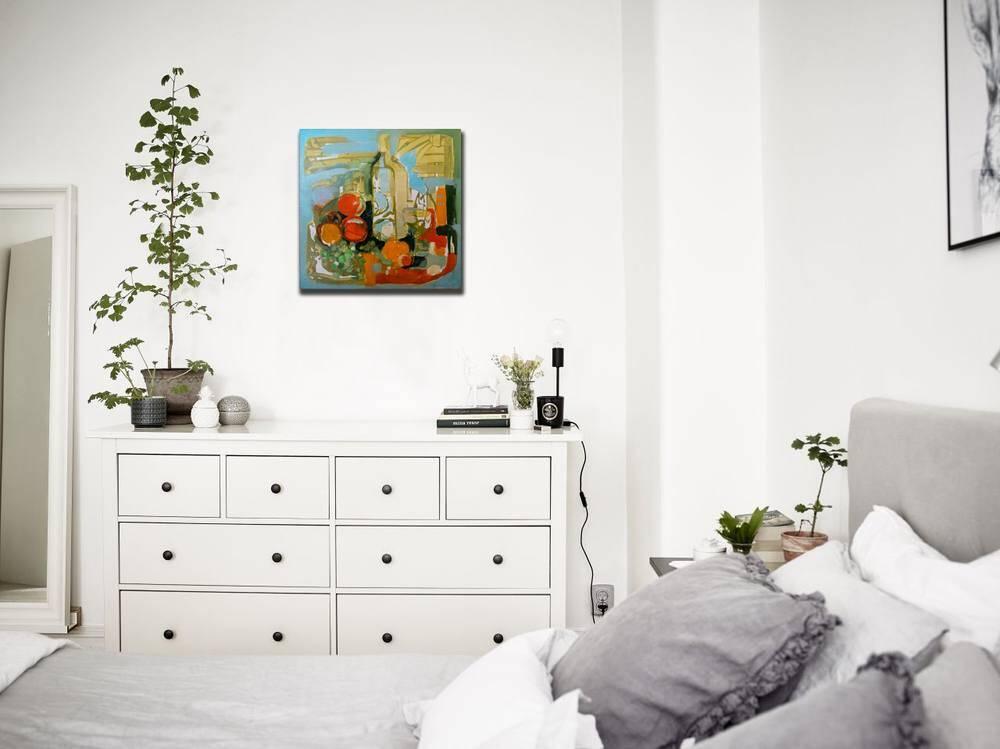 Atelier Hlavina: Zátišie s fľašou - Milan Ferenčík