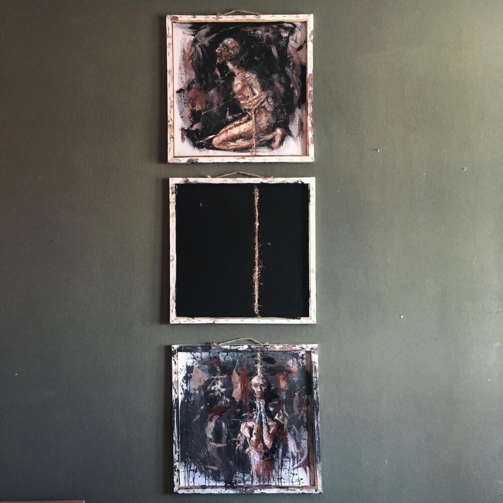 Atelier Hlavina: Modlitba - triptych - Lukáš Slávik