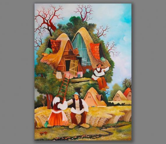 Atelier Hlavina: Dedina v strome- Glózik Ján