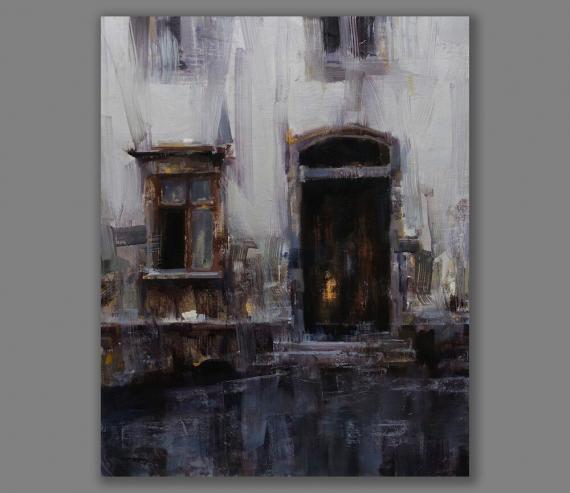 Atelier Hlavina: Vráskavé steny - Tibor Nagy