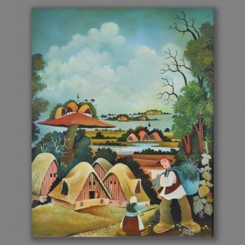 Atelier Hlavina: Dedko a vnucka - Glózik Ján