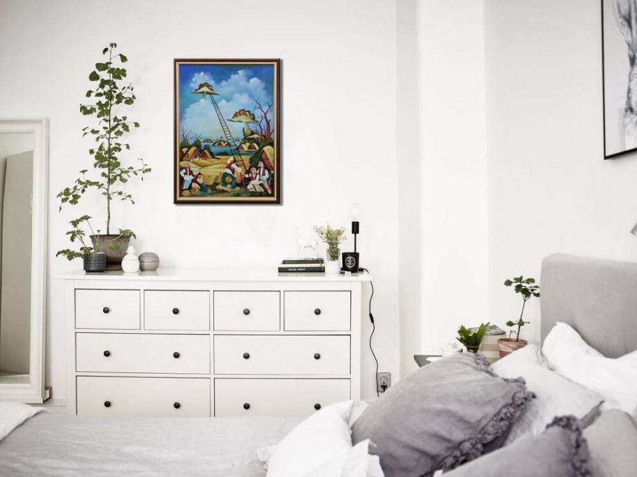 Atelier Hlavina: Pri rebríku - Glózik Ján