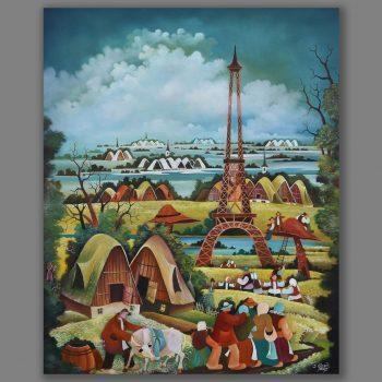 Atelier Hlavina: nasi v parizi - Glózik Ján