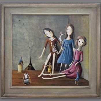 Atelier Hlavina: Tři panny- Barbara Issa Wagner