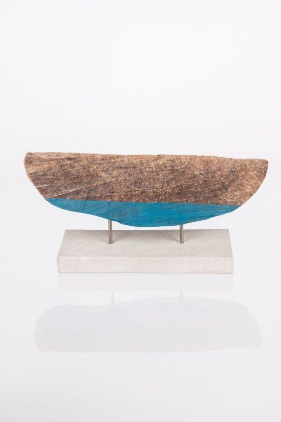 Atelier Hlavina: loďka - dreva