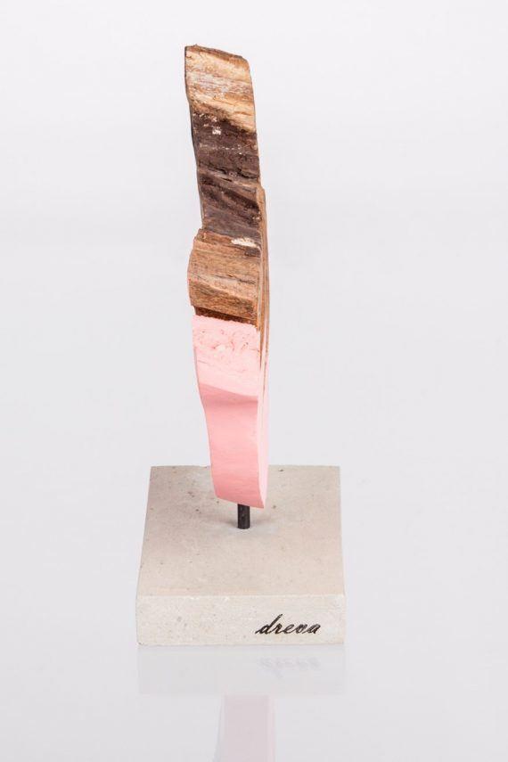 Atelier Hlavina: ružový presah- dreva