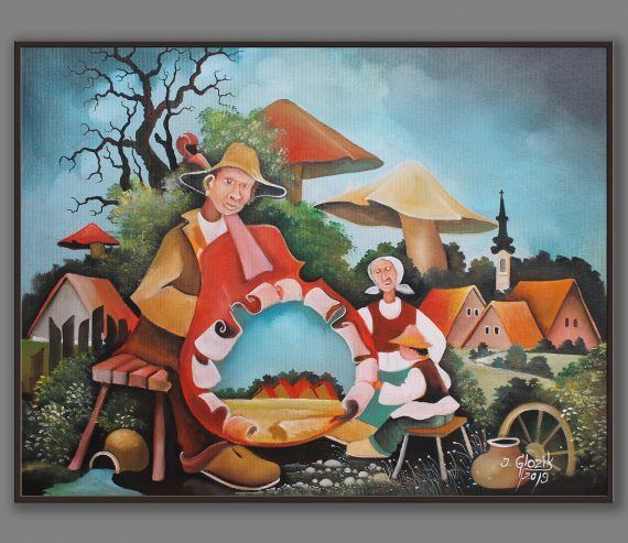 Atelier Hlavina: Dedo a vnuci - Glózik Ján