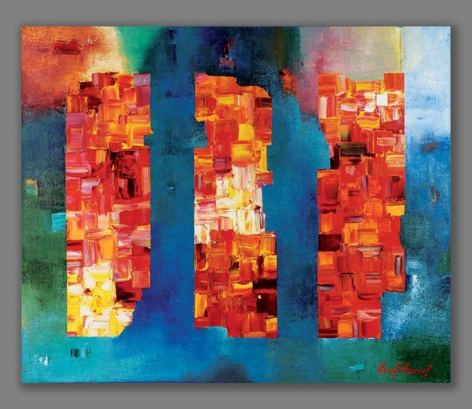 Atelier Hlavina: Tri postavy- Pavol Hammel