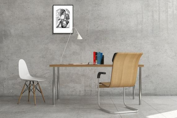 Atelier Hlavina: Britva - Lukáš Cehľár