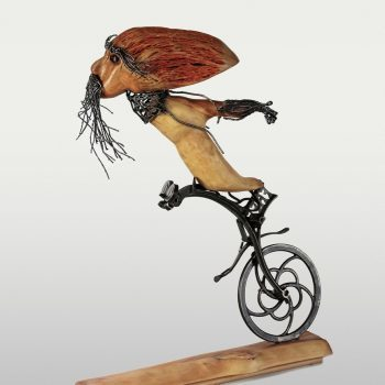 Atelier Hlavina: Cyklista - Peter Kuraj