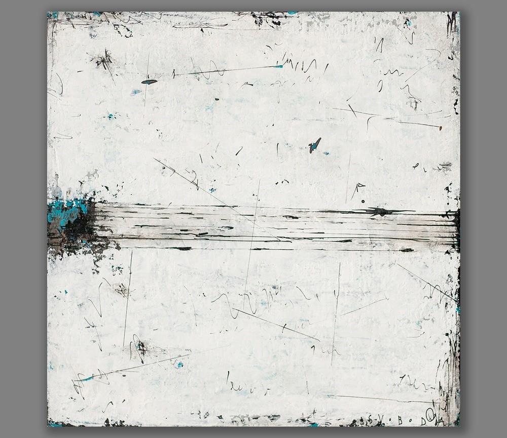 GEOMETRIA POCITU – abstraktná maľba