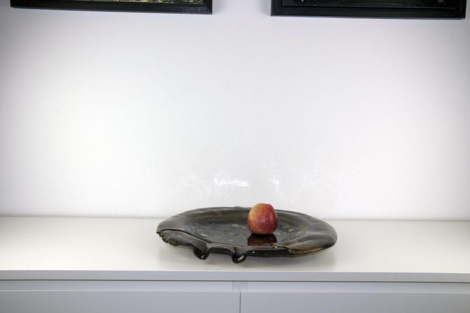 Atelier Hlavina: Juraj Sloboda - Bowl circle II brown gold