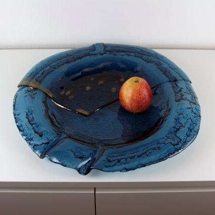 Atelier Hlavina: Juraj Sloboda - Bowl circle Iblue