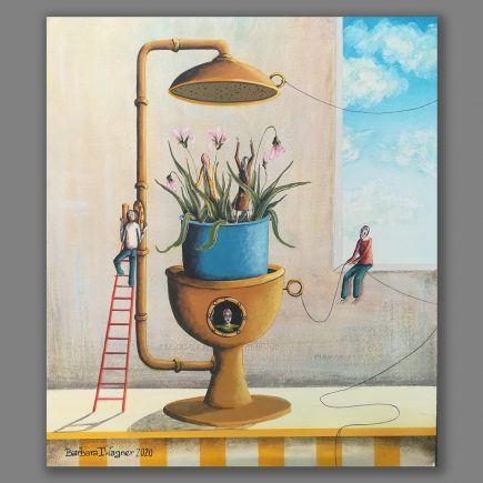 Atelier Hlavina: Příprava na jaro - Barbara Issa Wagner
