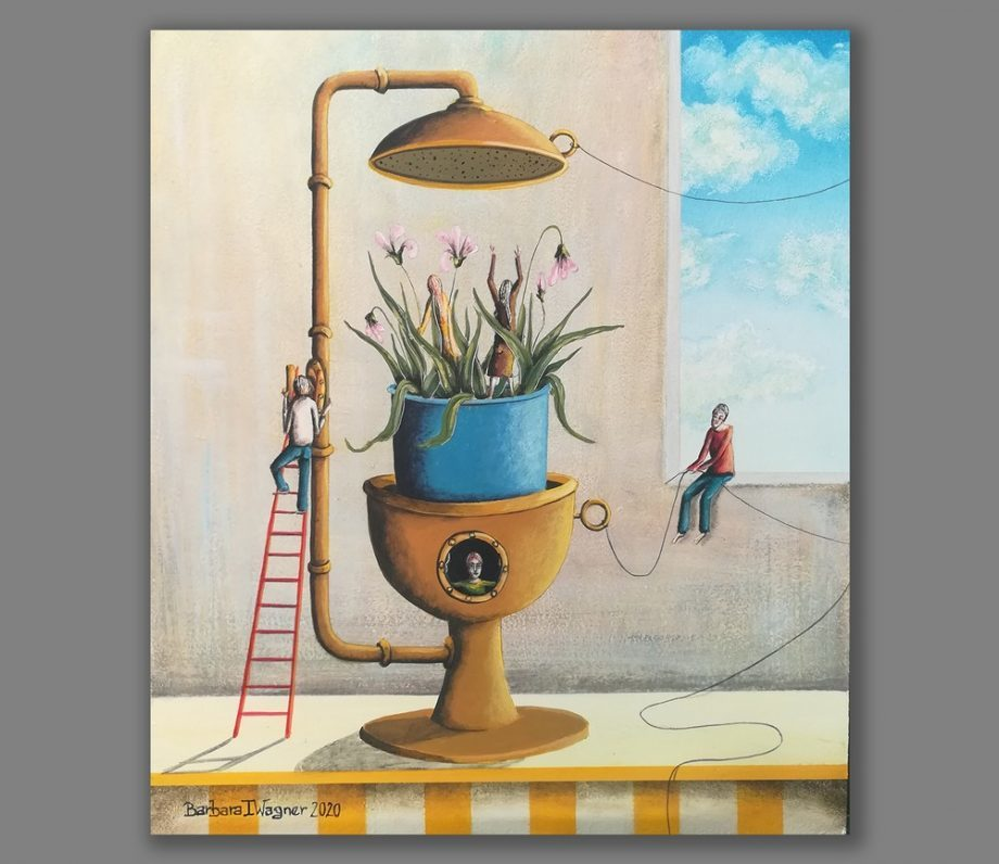 Atelier Hlavina: Preparing for spring - Barbara Issa Wagner