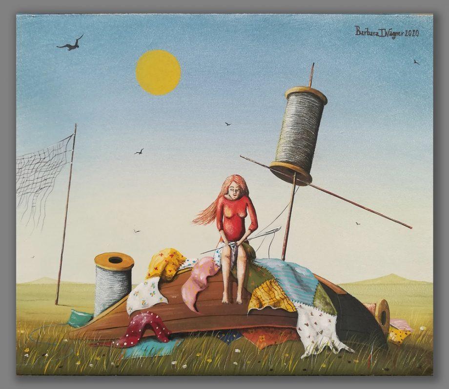 Atelier Hlavina: Příprava na plavbu - Barbara Issa Wagner