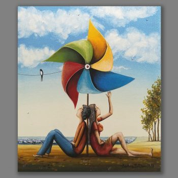 Atelier Hlavina: Dating under a pinwheel - Barbara Issa Wagner