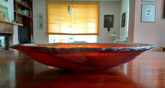 Atelier Hlavina: Darina Szöllösiová - Sklená misa – bronz