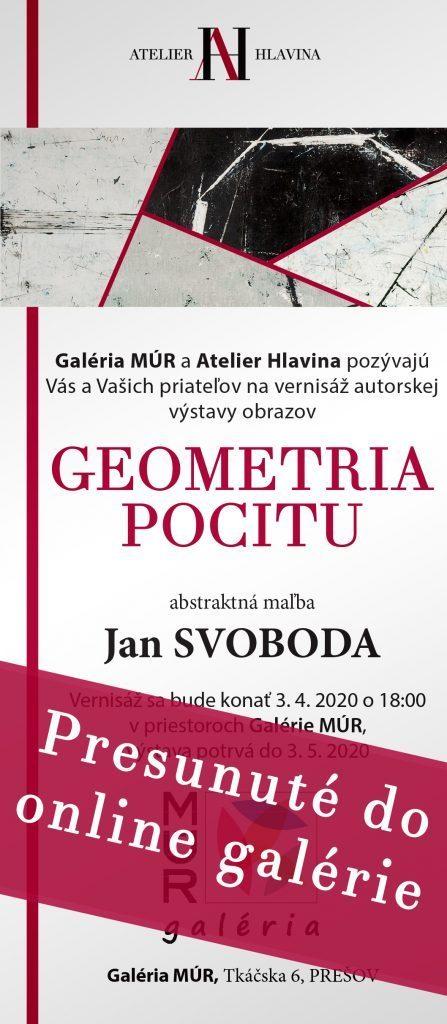 Jan SVOBODA - GEOMETRIA POCITU