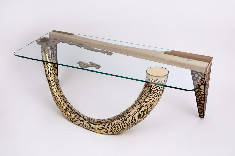 Atelier Hlavina: Šimon Majlát - Mammoth tusk - coffee table