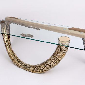 Atelier Hlavina: Šimon Majlát - Mammoth tusk - coffee table