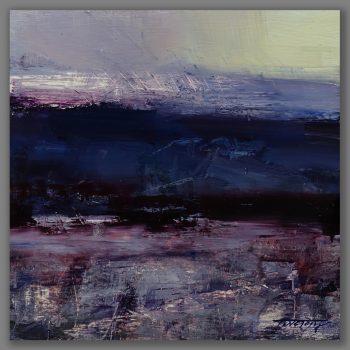 Atelier Hlavina: Tibor Nagy - Purple Evening