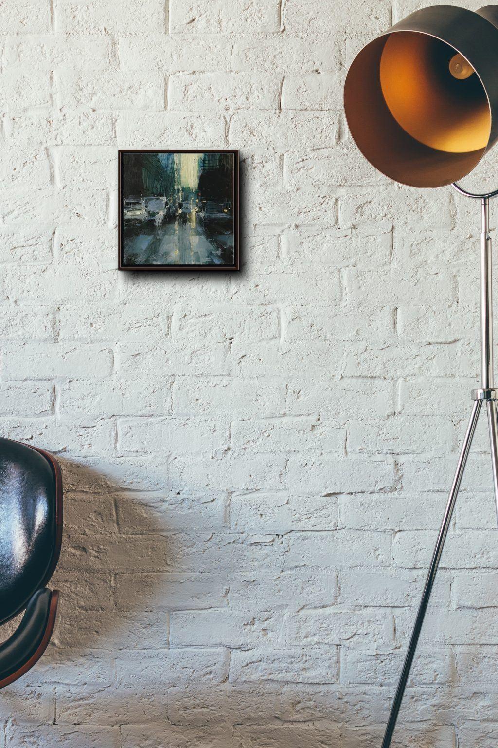 Atelier Hlavina: Tibor Nagy - Skica ulice #14