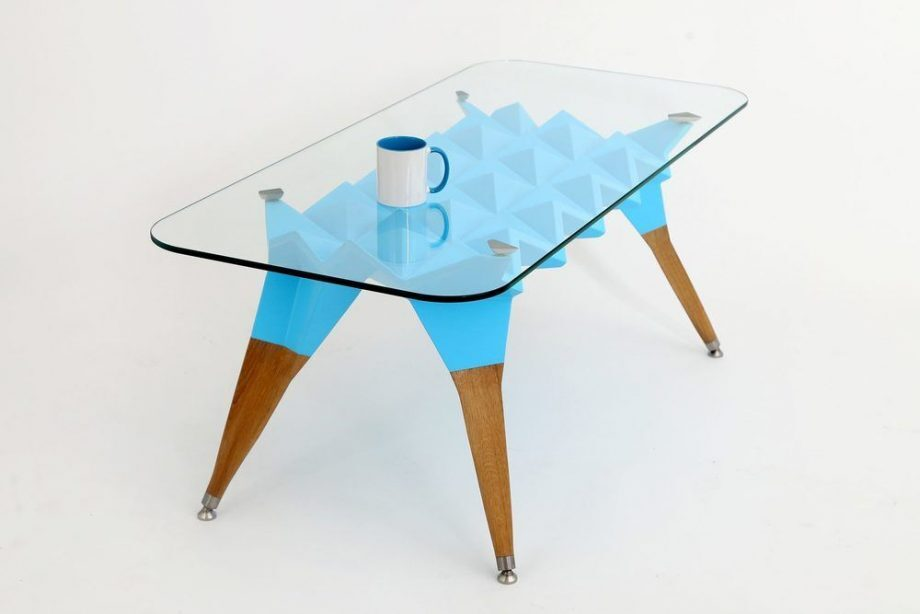 Atelier Hlavina: Šimon Majlát - Blue hedgehog - coffee table