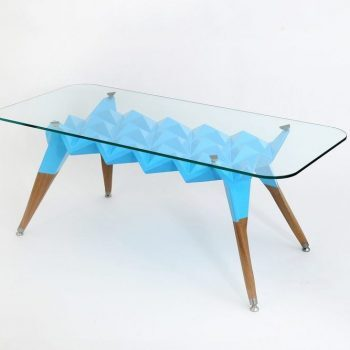 Atelier Hlavina: Šimon Majlát - Blue hedgehog - coffee table