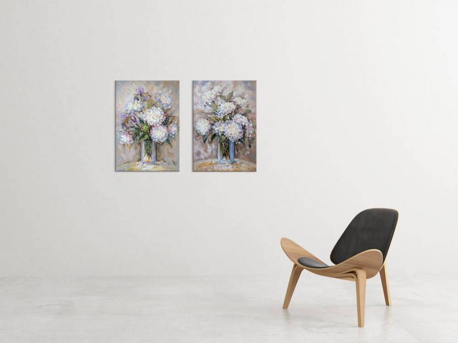 Atelier Hlavina: Ester Ksenzsigh - Hortenzie II