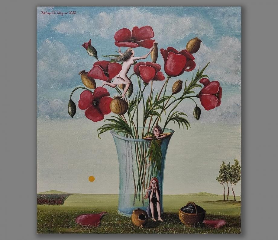 Atelier Hlavina: Barbara Issa Wagner - On poppy blossoms